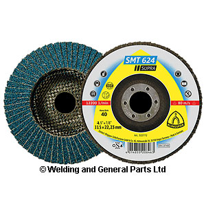 Zirconium Flap Disc 4.5 inch 115mm