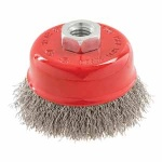 Stainless Steel Crimp Cup Wire Brush