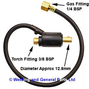 Tig Torch Plug Adaptors