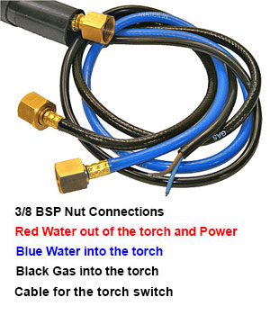 Tig Torch Connections WP20