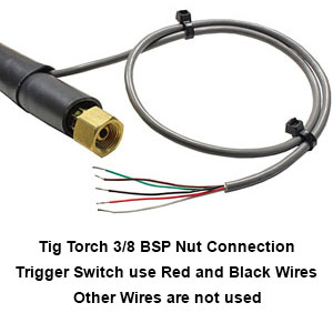 Tig Torch Pro Connections